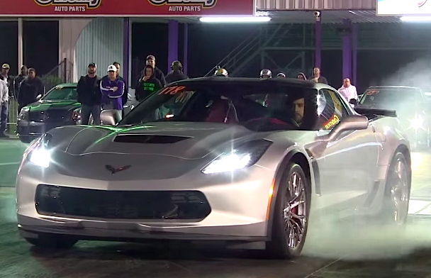 2015 Corvette Z06 Quarter Mile First Pass Vettetv