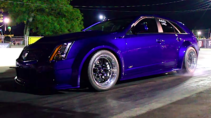 Widebody Cadillac Cts V Is One Mega Fast Grocery Getter