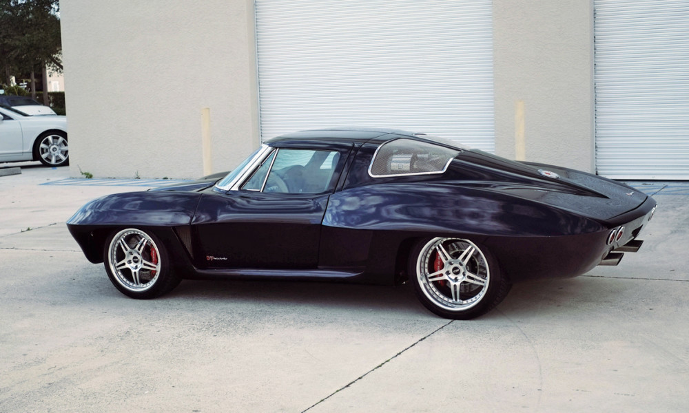 Mid-Engine, Twin-Turbo 1963 Chevrolet Corvette Up for Auction at ...