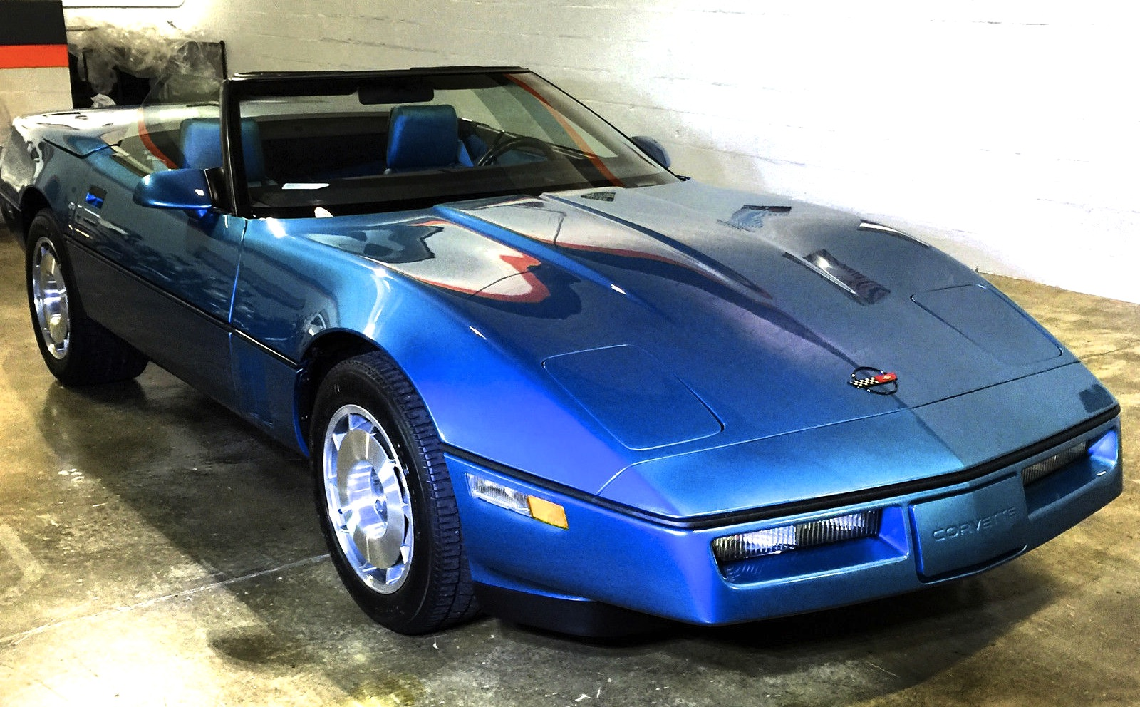 Time Capsule 1k Miles 1987 Corvette Convertible Up For