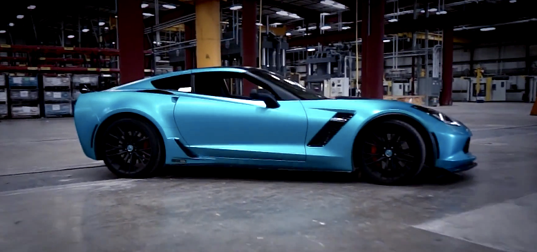 Blue Streak 1000 Hp C7 Z06 Is A Turquoise Gem Of A Vette