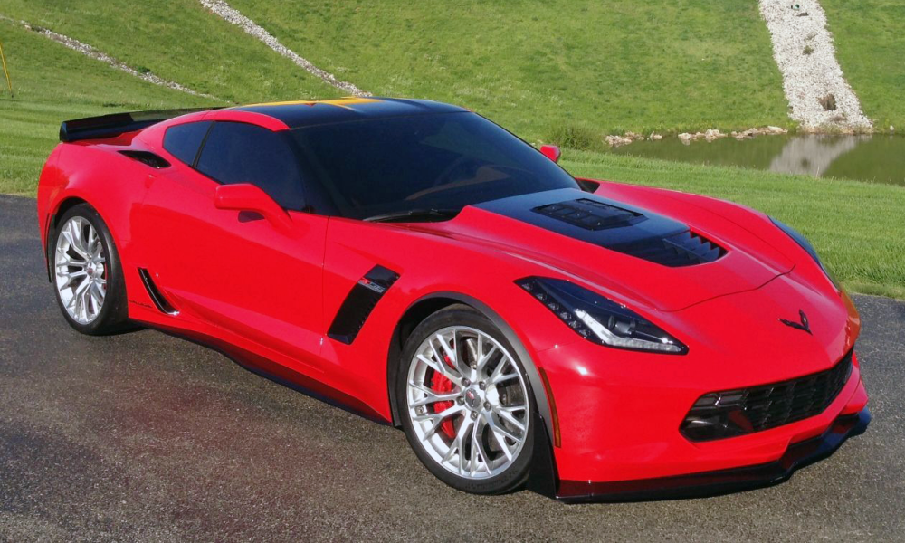 callaway c7 corvette z06 revealed at museum bash vettetv. Black Bedroom Furniture Sets. Home Design Ideas