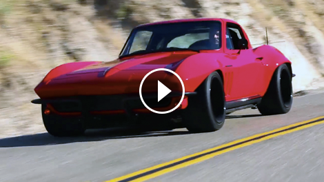 Big Red The Baddest 65 Corvette You Ve Ever Seen Vettetv