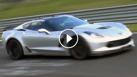C7 Corvette Z06 Spotted Again At The N 252 Rburgring Official