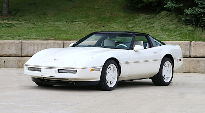 163 Mile 1988 Corvette 35th Anniversary Edition Hits The