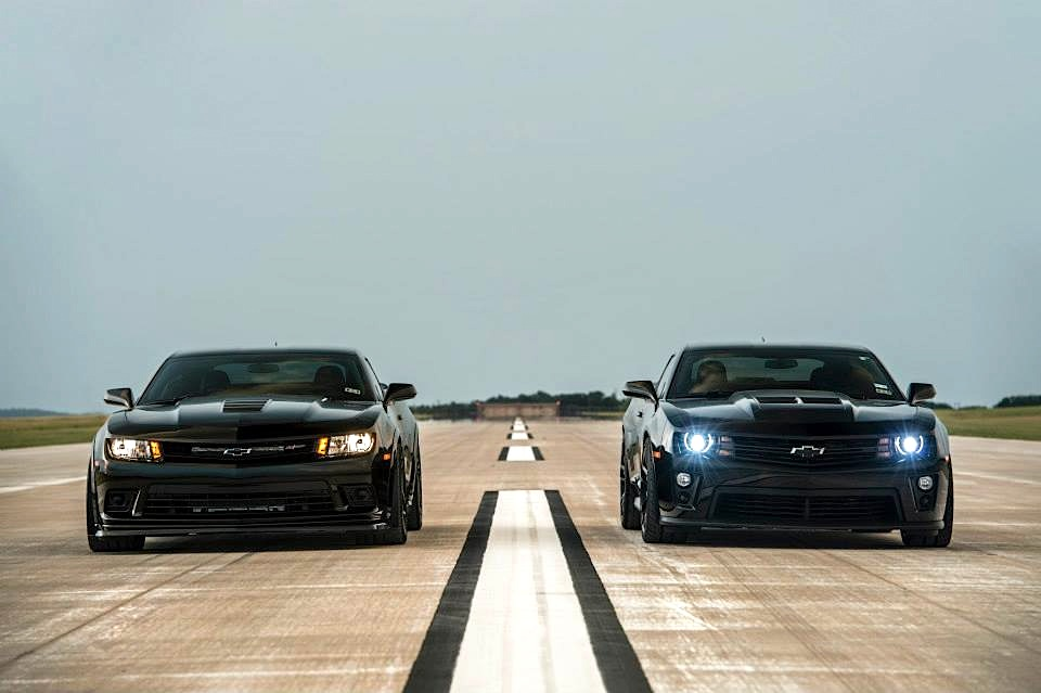 Big Power Texas Two Step Hennessey Camaro Z 28 Vs Zl1