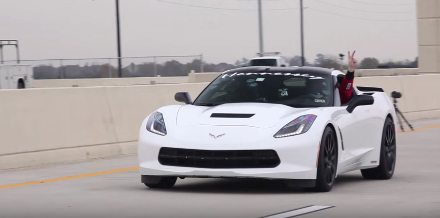 Hennessey C7 Corvette Goes 200mph On Texas Highways Vettetv