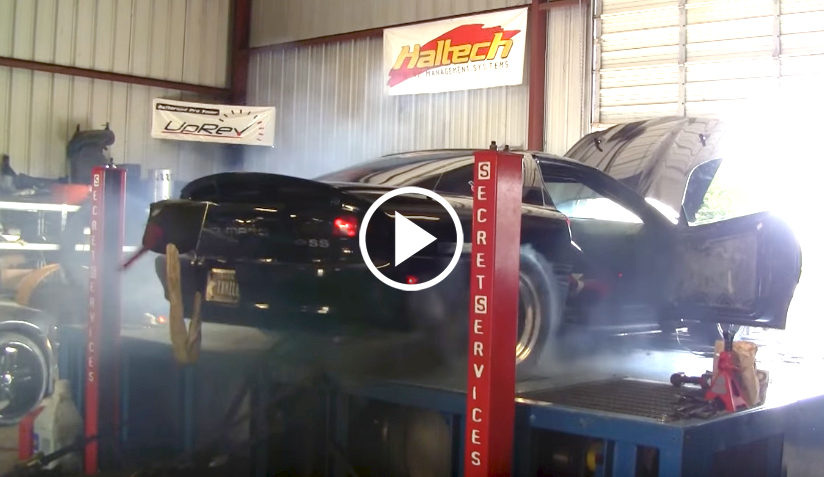 1800 Hp Camaro S Tires Explode On The Dyno Vettetv