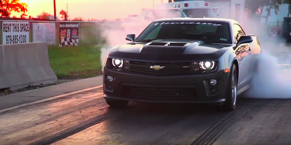 700 Horsepower Hennessey Camaro Zl1 Gets The Drive