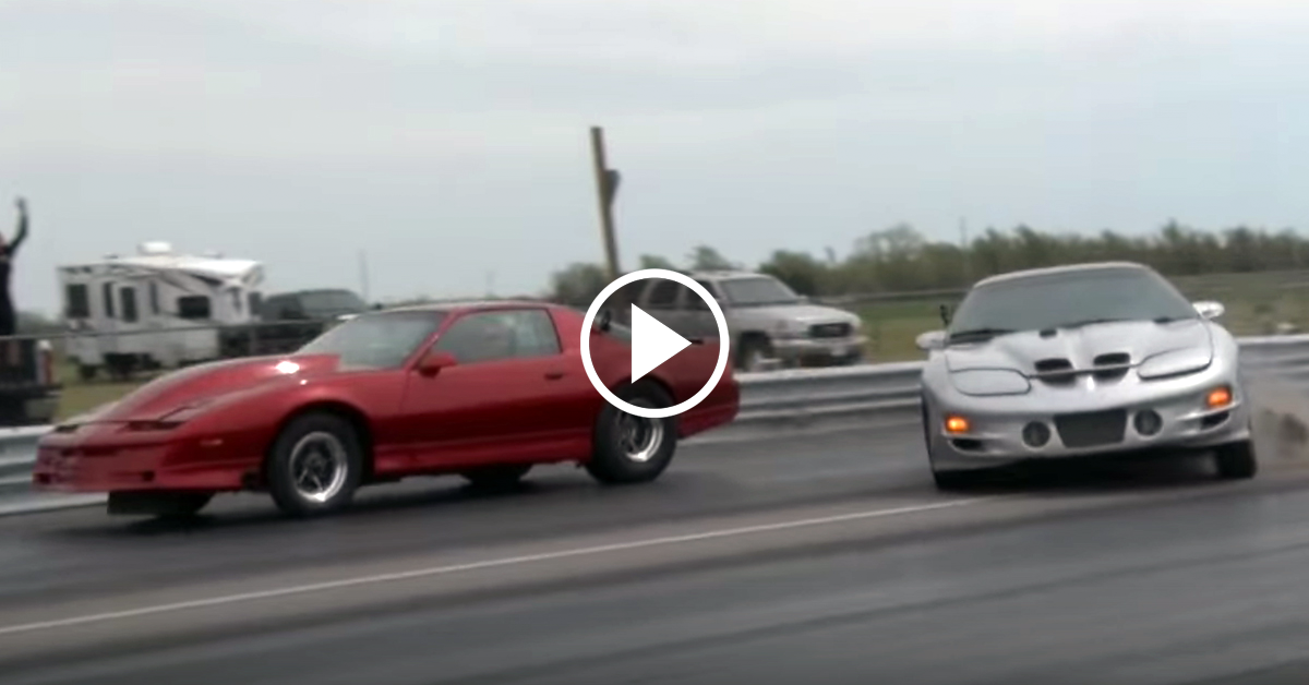 Fr8train Turbo Firebird Nearly Comes Off The Rails Vettetv