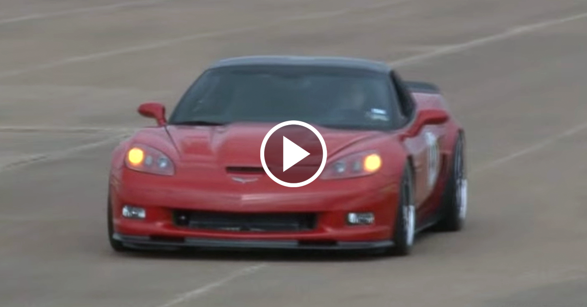 Get Breathless Riding Shotgun In A 1 265 Horsepower Twin Turbo Mega Vette Vettetv