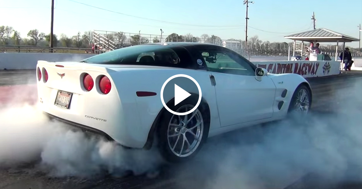 728 Horsepower Corvette Zr1 Rages At The Racetrack Vettetv