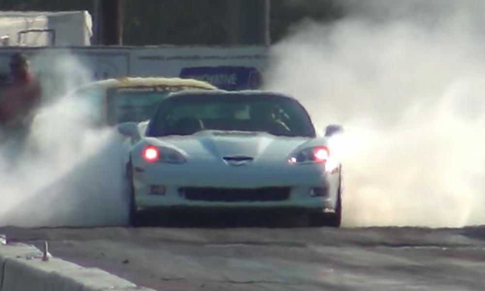 728 Horsepower Corvette Zr1 Rages At The Racetrack Vettetv