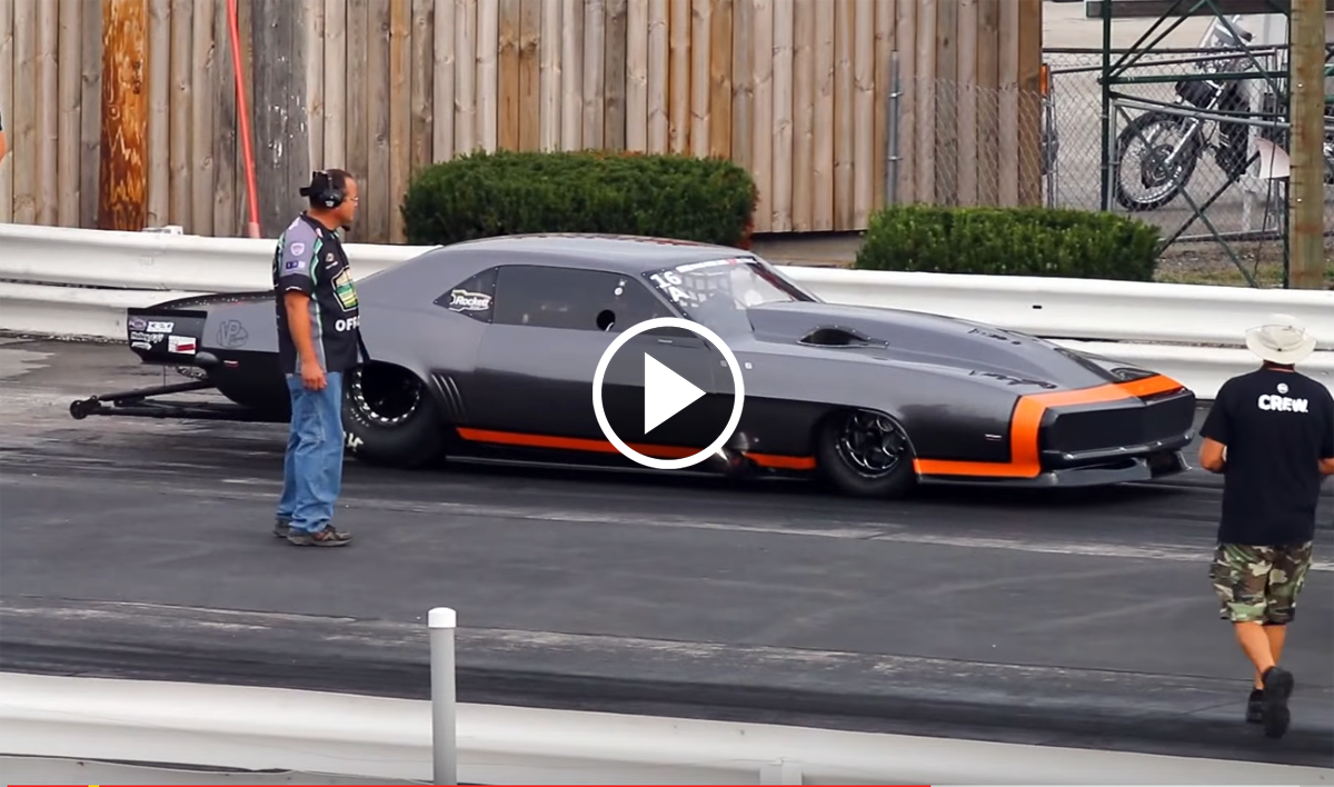 3 200 Horsepower Twin Turbo 1969 Camaro Is A Drag Week