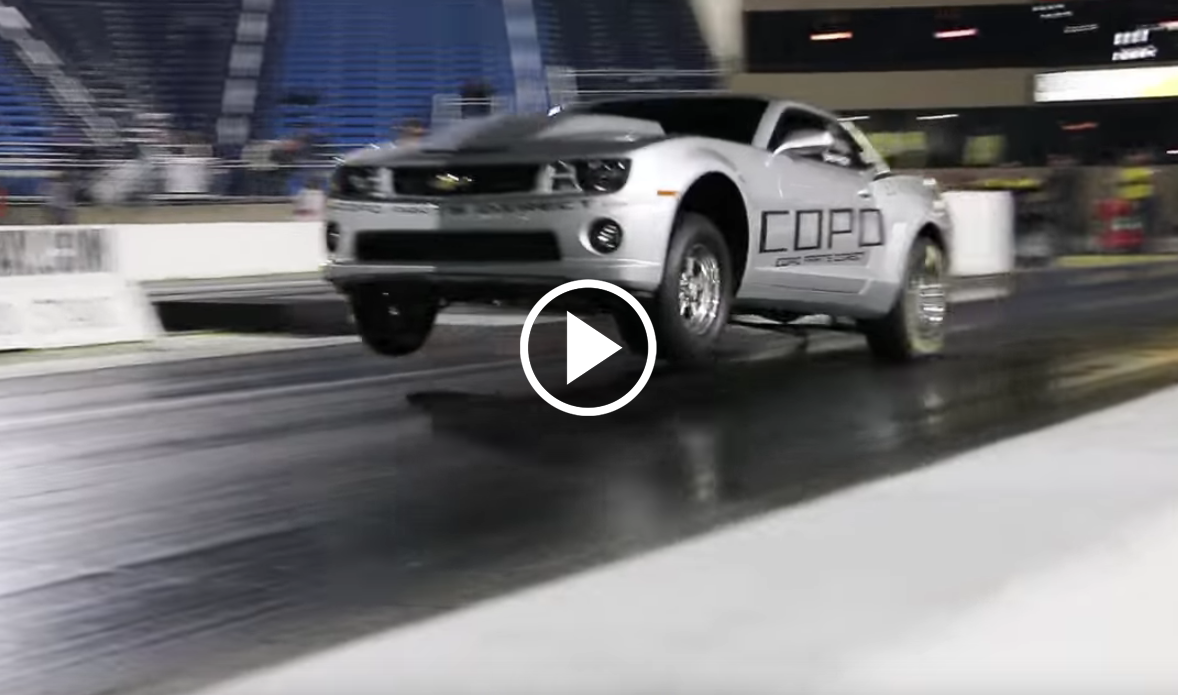 Copo Camaro Roars During A Test And Tune Vettetv