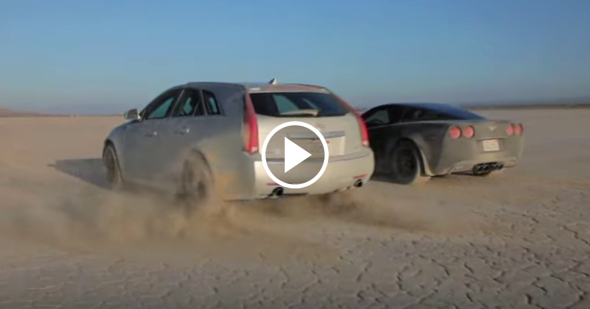 Cts-V Wagon For Sale >> Corvette and CTS-V play in the dirt with Matt Farah - VetteTV