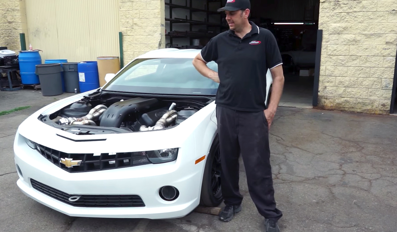 Watch Nelson Racing Show Off Its 260 Mph Copo Camaro Vettetv