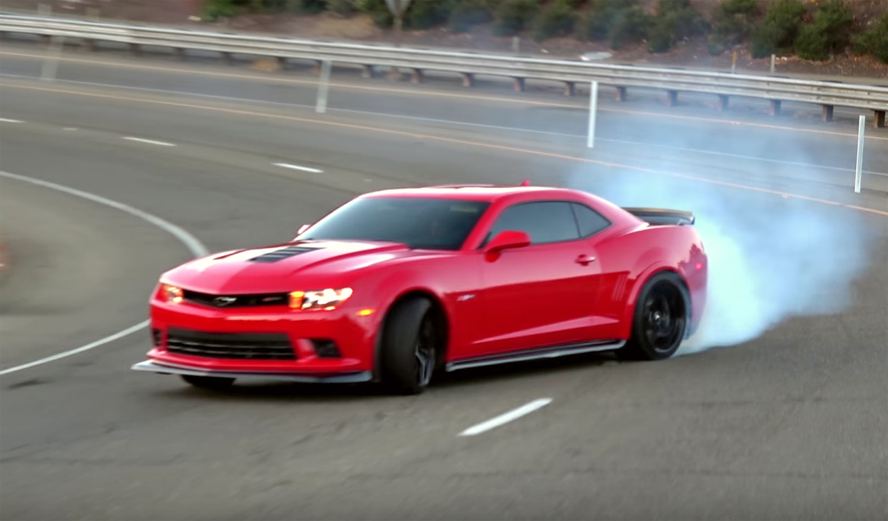 Watch A Camaro Z28 Drift An Entire Freeway Onramp Vettetv