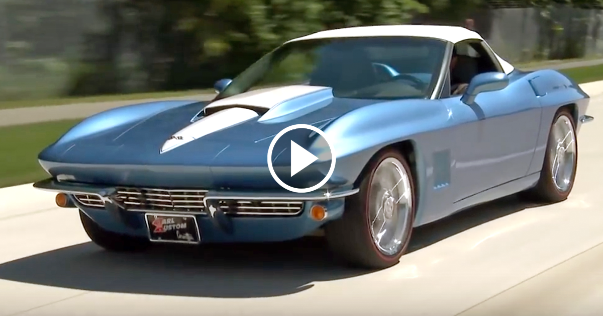 Karl Kustom Shows Off Classic Stingray Good Looks With