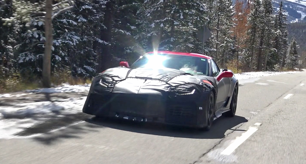 2018 Chevy Corvette ZR1 Spotted!