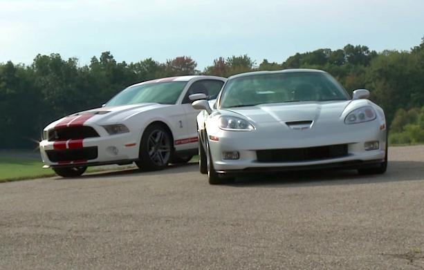 2010 Corvette vs Mustang