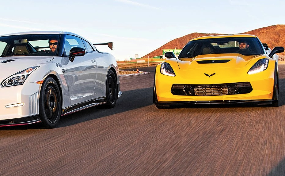 2015 Corvette Z06 And Nissan Gt R Nismo Square Off Vettetv
