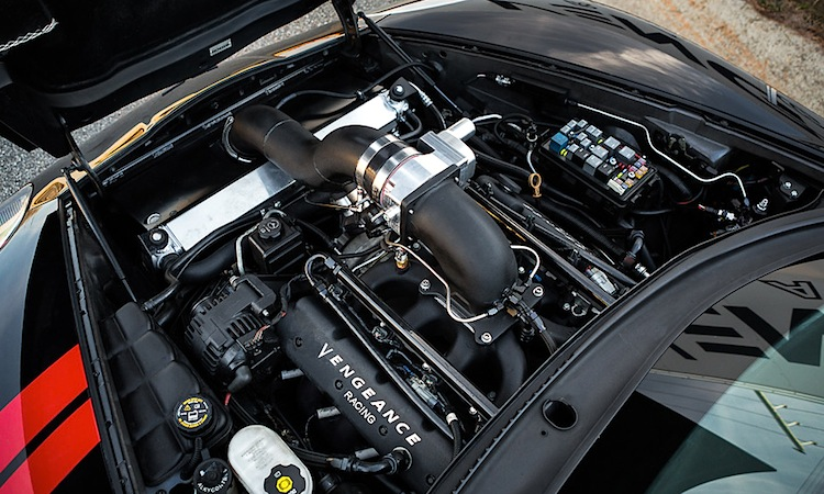 Twin Turbo C6 Corvette hits 203 6 mph at Georgia 1/2 mile event