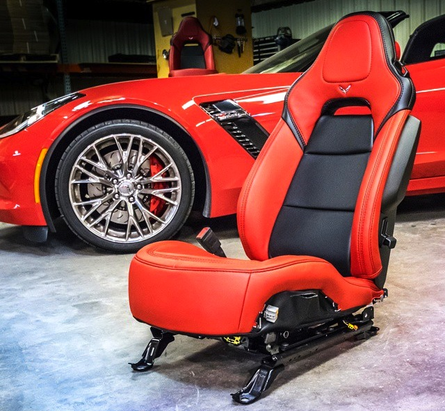 Custom leather seats for your C7 Corvette Z06, worth it ...