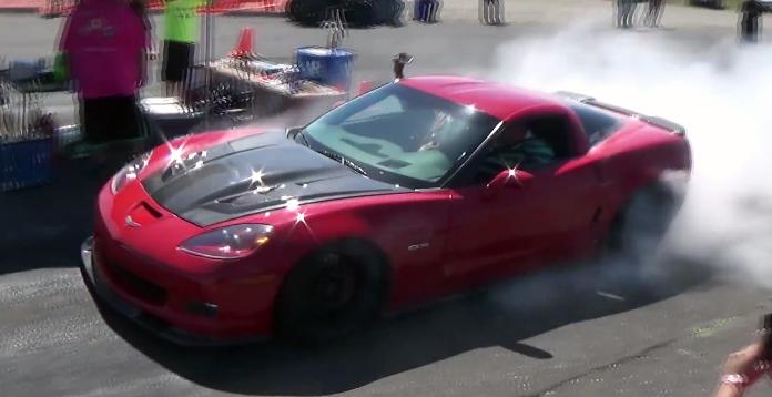 1100HP C6 Corvette Z06 sounds epic under throttle - VetteTV