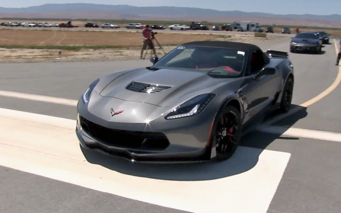 2015 Corvette Z06 Convertible Hooks Up With Modded Cts V