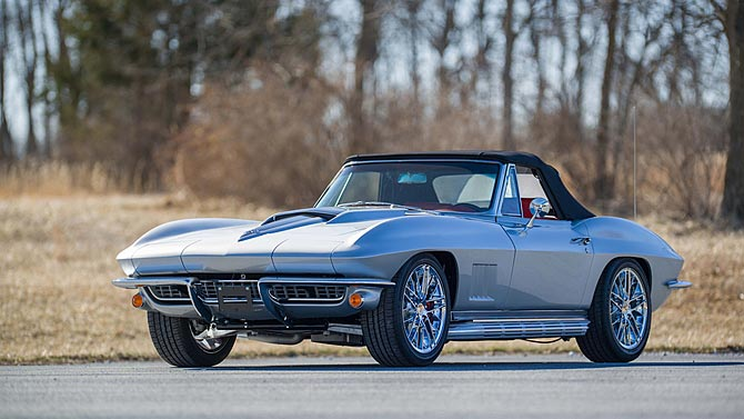 Restomod Done Right 1967 Corvette Stingray With Lt1 Swap