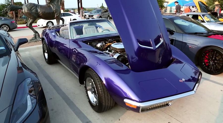Corvette Invasion of Austin, Texas