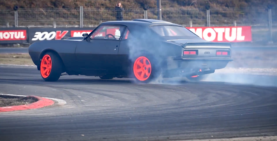 Vette Powered Ls3 Camaro Goes Drifting French Style Vettetv