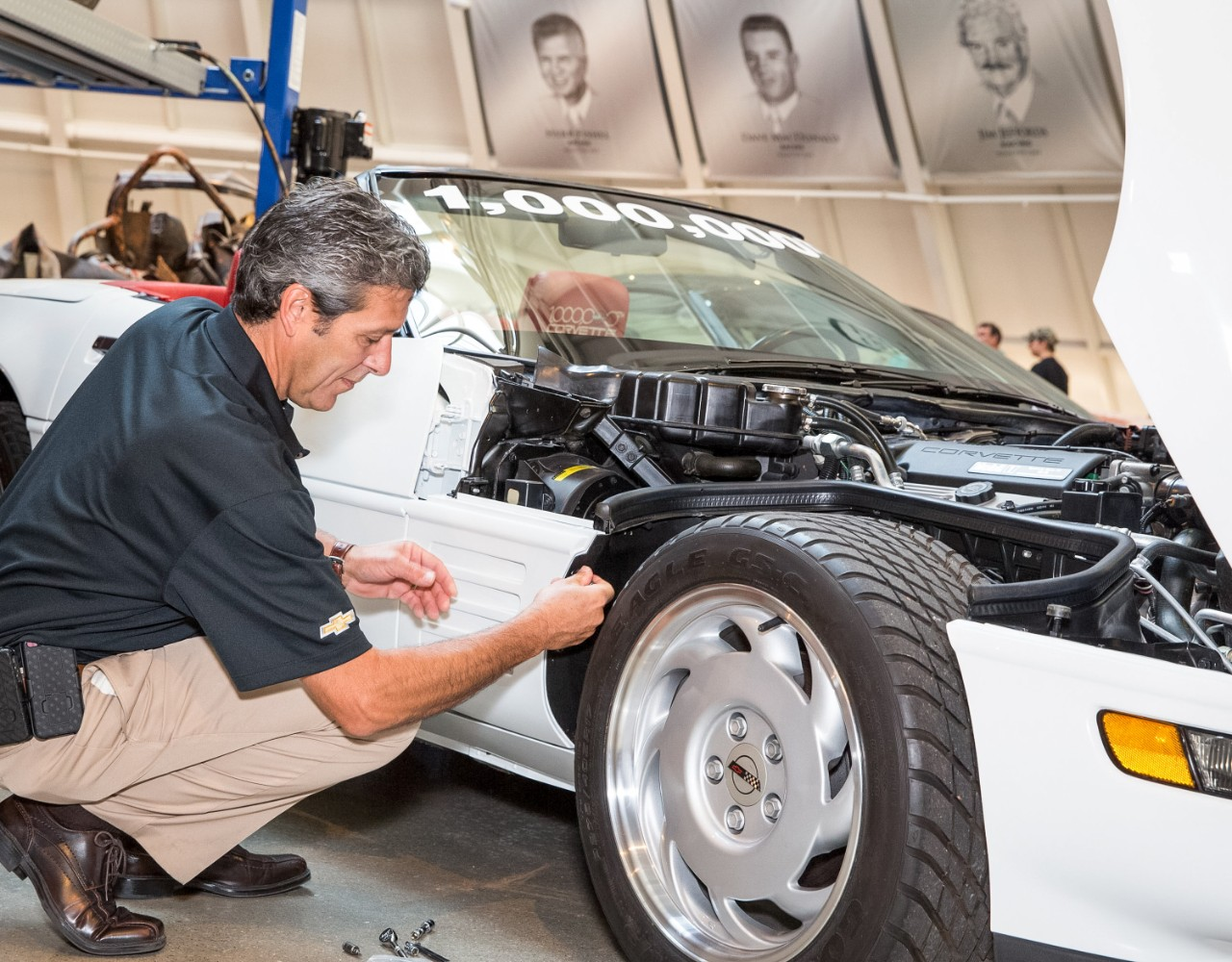Chevrolet Restored 1 Millionth Corvette Returned to National Corvette Museum