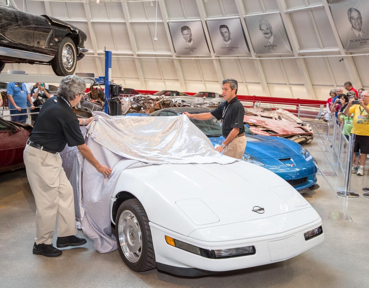 Corvette 1,000,000 restored to new