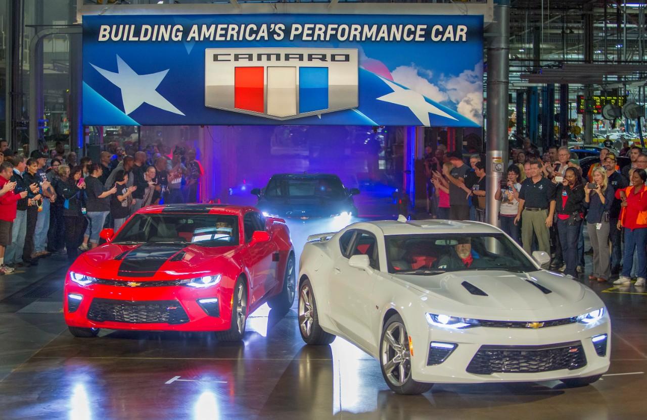 2016 Chevrolet Camaro Starts Shipping