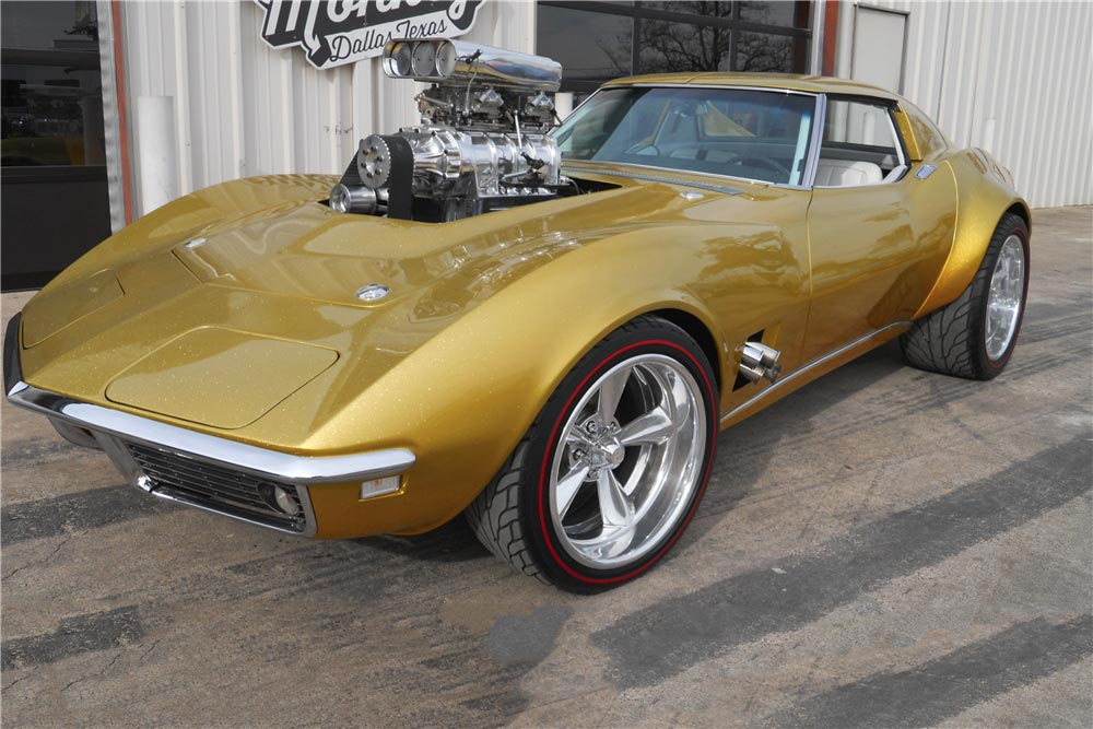 1968 Hot Wheels Corvette from Gas Monkey Garage