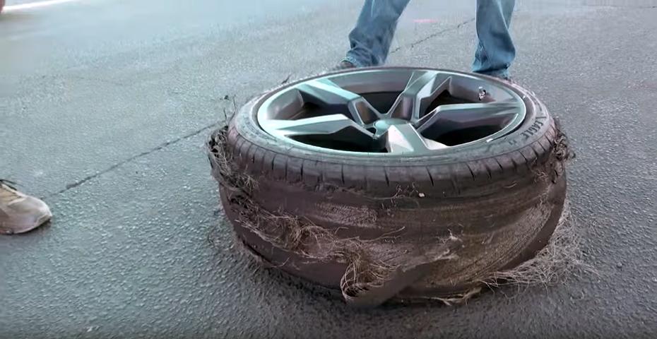 2016 Chevy Camaro Ss Tire Shredding