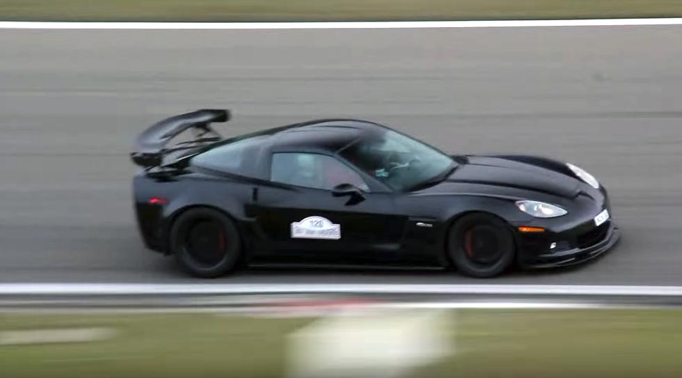 Ferocious Corvette Z06 Roars Through The Nurburgring Vettetv