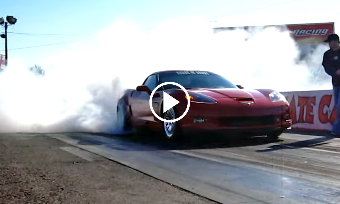 House Of Boost Corvette Z06 Roars On The Dyno And The