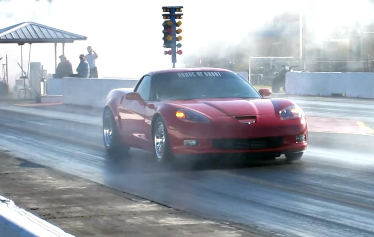 Boosted C6 Corvette Z06