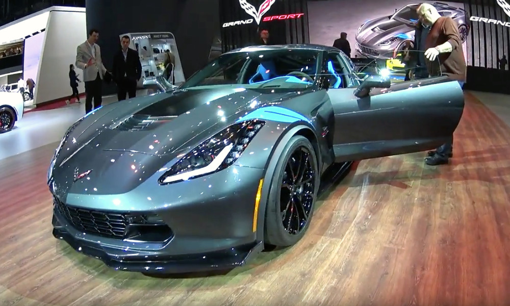 Chevy Takes Geneva By Storm With The 2017 Corvette Grand