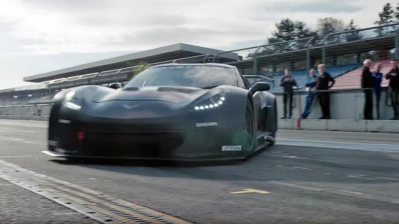 Callaway Corvette C7 GT3-R: Test Drive Hockenheimring