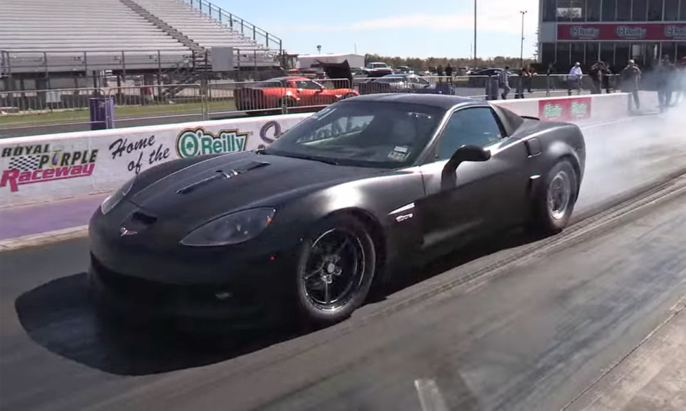 Eight Second Z06 Smokes The Syndicate Vettetv