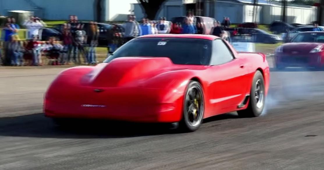 Vengeance Racing's C5 Corvette sets an all-motor record - VetteTV