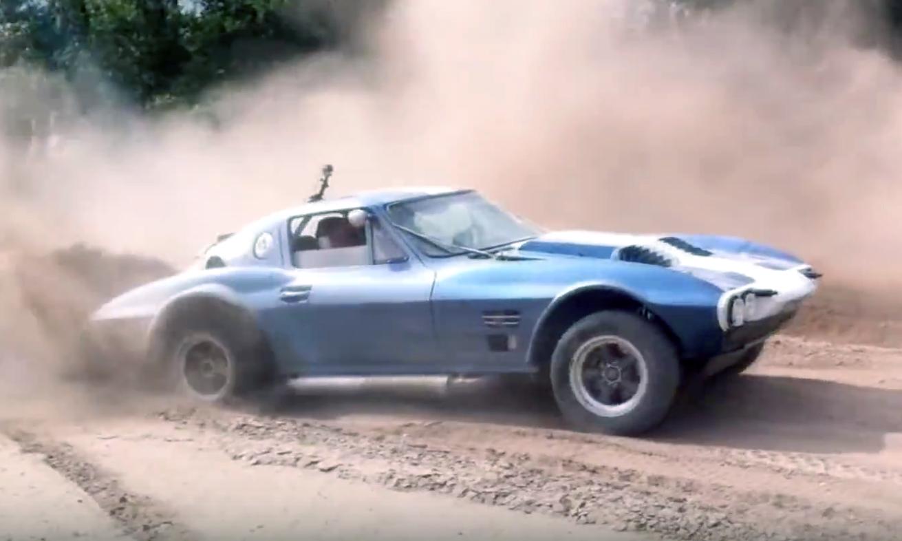 Corvette Grand Sport East-African Rally shakedown