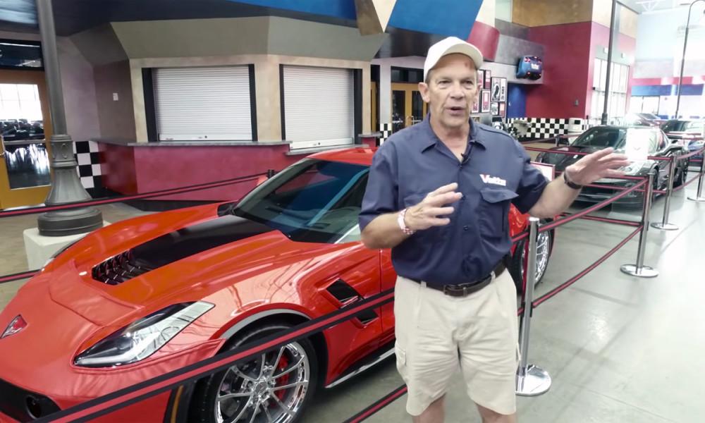Take A Tour Around The Corvette Museum Vettetv