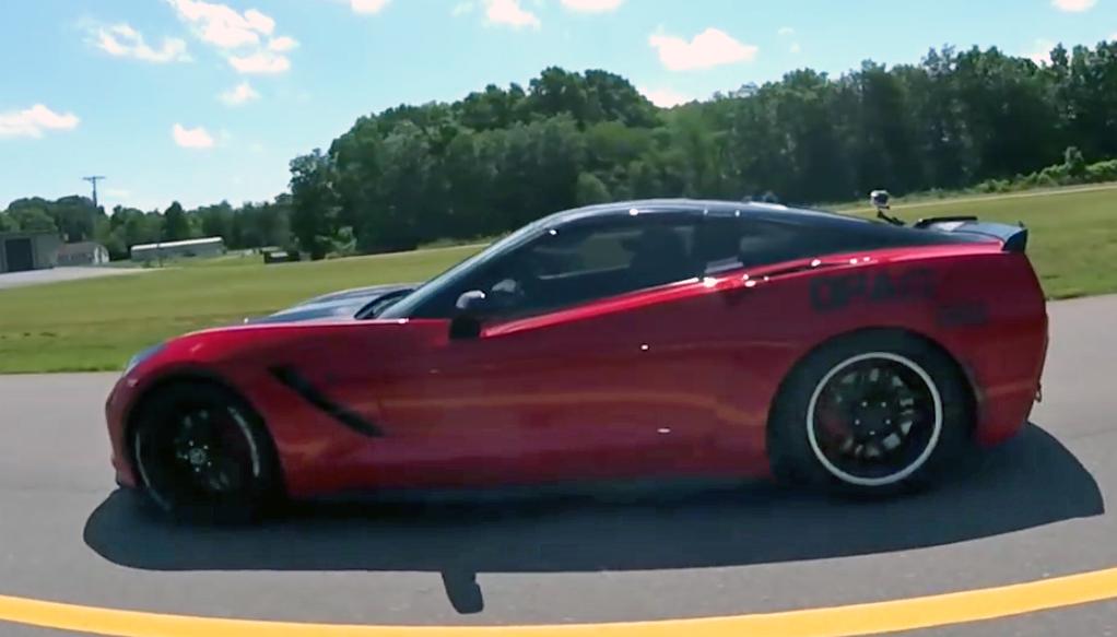 Blown C7 Red Corvette