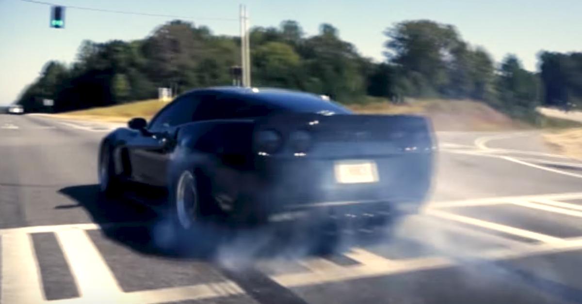 Twin Turbo C6 Corvette evokes fire-spitting Black Magic - VetteTV